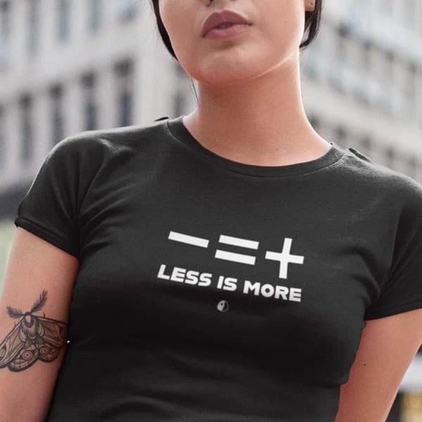 Picture of Less is more