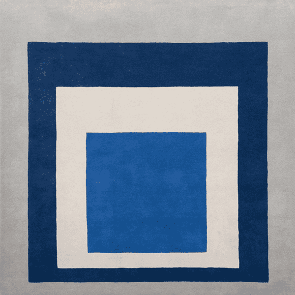 Picture of Josef Albers Bauhaus Rug - Homage to the Square