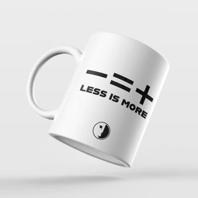 Picture of Less is more Cup