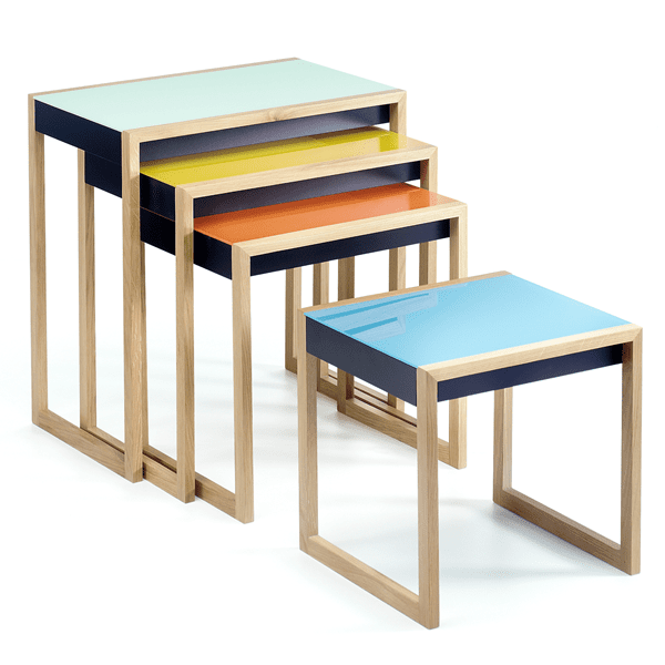 Picture of Nesting Table Josef Albers