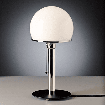 Picture of Wilhelm Wagenfeld table lamp WA 23 SW