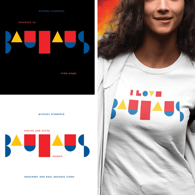 Picture of I love Bauhaus + Books + Shirt