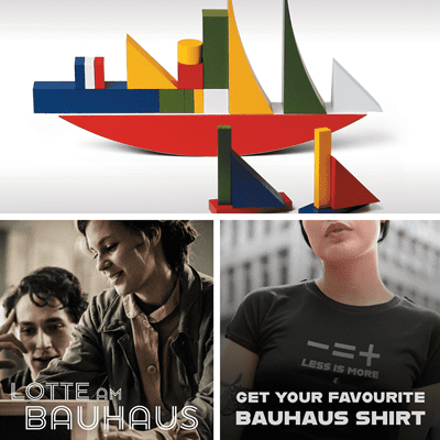 Picture of Bauhaus Bauspiel + Lotte Bauhaus + Your favorite shirt