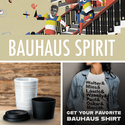 Picture of Bauhaus Spirit + Mug Gropius + Favorite Shirt