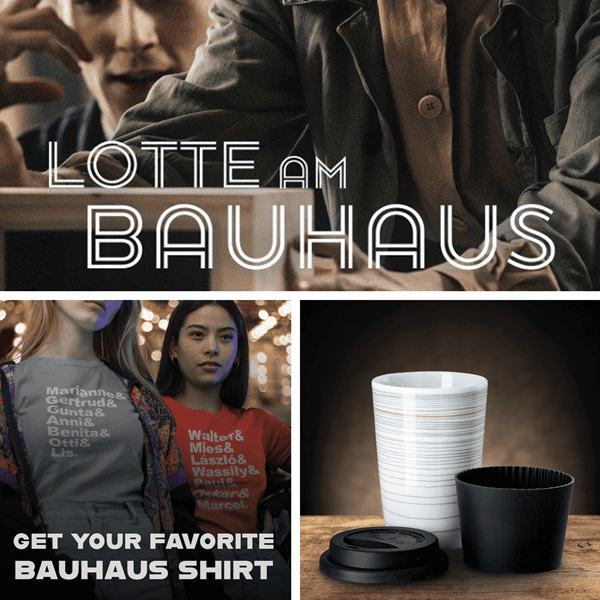 Picture of Lotte am Bauhaus + Mug Gropius + Favorite Shirt