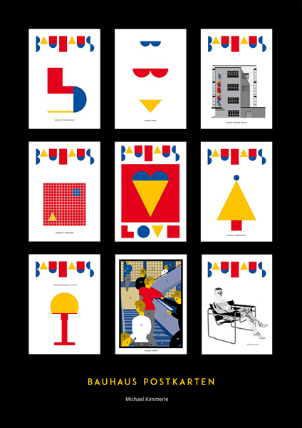 Picture of Bauhaus Postcards