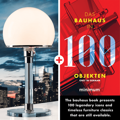 Picture of Wagenfeld Lamp WG 24 + Bauhaus in 100 Objects