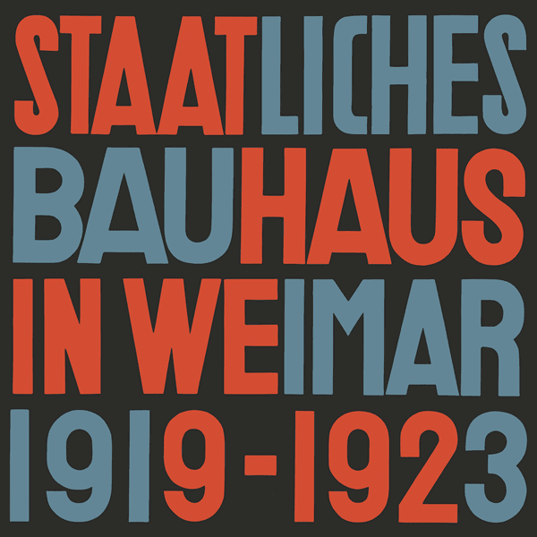 Picture of State Bauhaus in Weimar 1919-1923