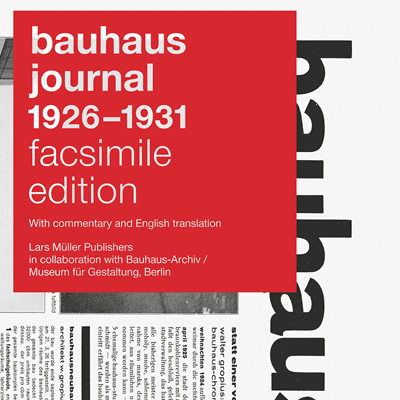 Picture of Bauhaus Journal 1926-1931