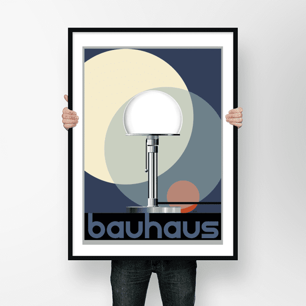 Picture of Wagenfeld Bauhaus Lamp
