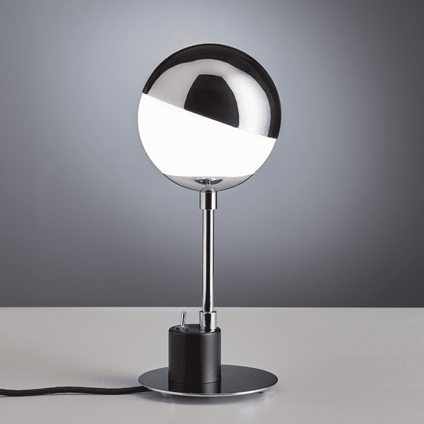 Picture of Bauhaus table lamp with hemisphere SF 28