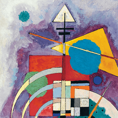 Picture of Vasily Kandinsky - The Great Masters of Art