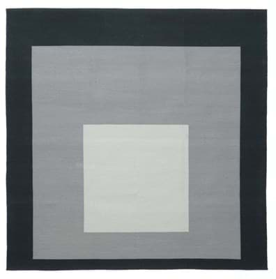 Picture of Josef Albers Bauhaus Rug Study