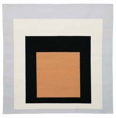 Picture of Josef Albers Bauhaus Rug New Gate