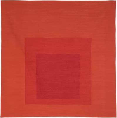 Picture of Josef Albers Bauhaus Rug Less & More