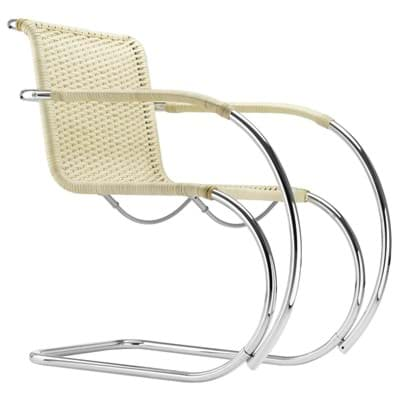 Picture of Cantilever Chair S 533 RF Sets - Mies van der Rohe