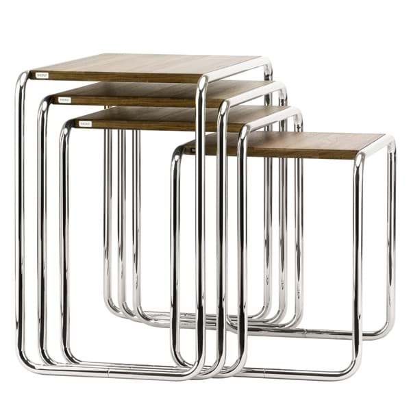 Picture of Set Side Tables B 9 - Marcel Breuer - 1925