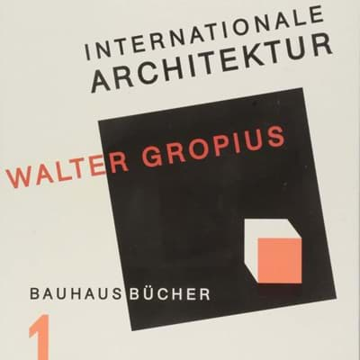 Picture of Bauhausbücher 1