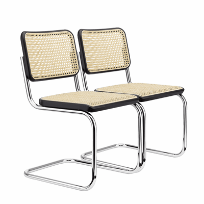 Picture of Sets S 32 V Cantilever Chair - Marcel Breuer