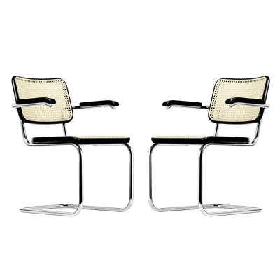 Picture of Sets S 64 V Cantilever Chair - Marcel Breuer