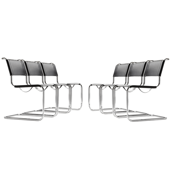 Picture of Sets S 33 Cantilever Chair - Mart Stam